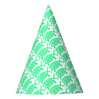Original Darwin Fish (Seafoam) Party Hat