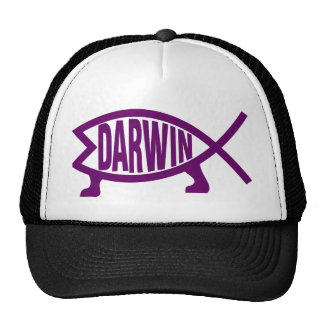 Original Darwin Fish (Violet) Cap