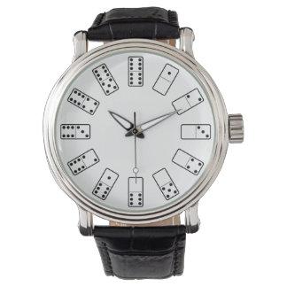 Original design black and white Domino symbols Watch