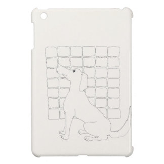 Original Dog Drawing Chinese Dog Year 2018 iPad Case For The iPad Mini