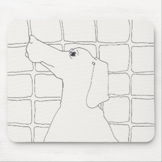 Original Dog Drawing Chinese Dog Year 2018 mouse P Mouse Pad