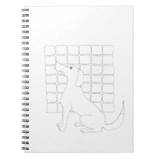 Original Dog Drawing Chinese Dog Year 2018 NoteB Notebook