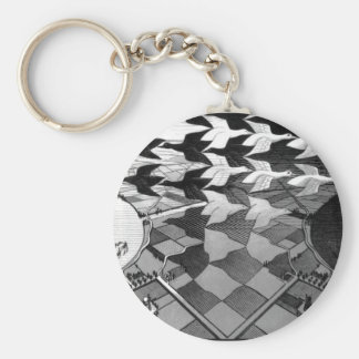 """Original famous draw """"day and night"""" key ring"""