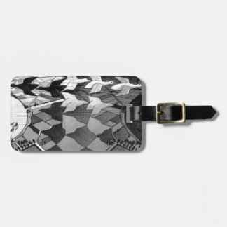 """Original famous draw """"day and night"""" luggage tag"""