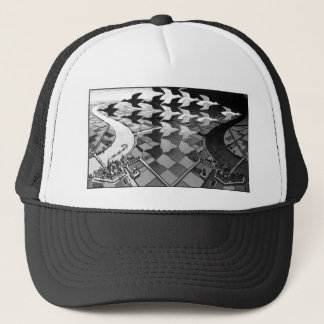 """Original famous draw """"day and night"""" trucker hat"""