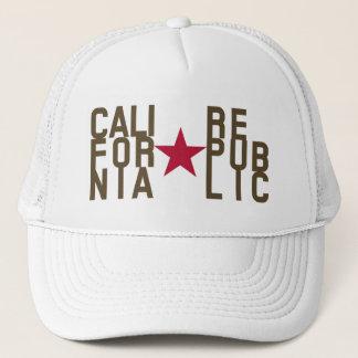 Original Fashion text design California Republic Trucker Hat