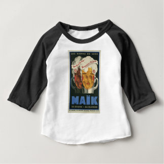 original French beer Art Deco Poster 1929 Baby T-Shirt