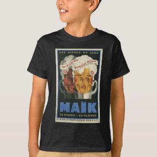 original French beer Art Deco Poster 1929 T-Shirt