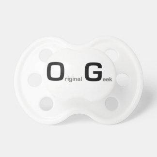 original geek baby pacifiers