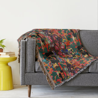 Original GeoDesign by Leslie Harlow Throw Blanket