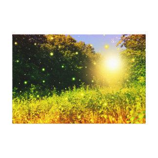 Original Glow Bug Photography Canvas Prints