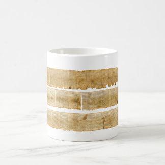 ORIGINAL Great Isaiah Scroll Dead Sea Scrolls Coffee Mug