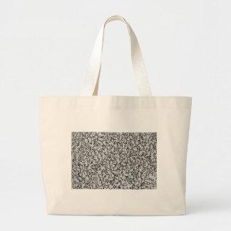 Original handmade desig. large tote bag