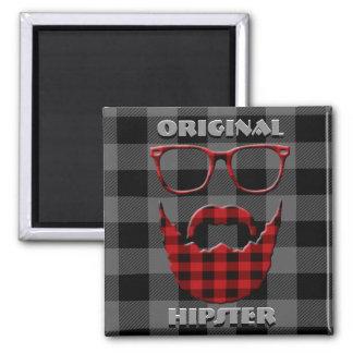 Original Hipster Magnet