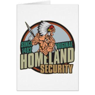 Original Homeland Security Card