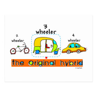 Original Hybrid Postcards