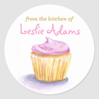 Original Illustration Cupcake stickers