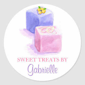 Original Illustration Petit Fours stickers