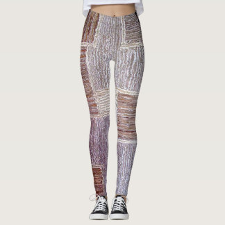 Original leather carpet craft texture leggings