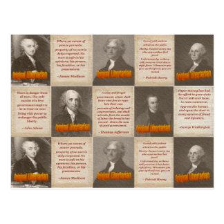 Original Libertarians Post Card