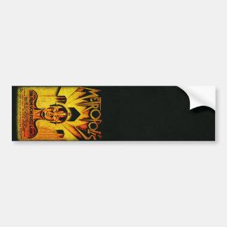 Original METROPOLIS RESTORED Adaptation Bumper Sticker