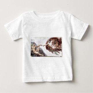 Original Michelangelo paint in sistin chapel Rome Baby T-Shirt
