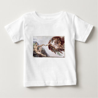 Original Michelangelo paint in sistin chapel Rome Baby T-Shirt