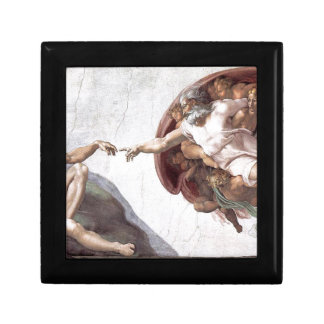 Original Michelangelo paint in sistin chapel Rome Gift Box