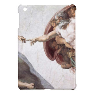 Original Michelangelo paint in sistin chapel Rome iPad Mini Cover