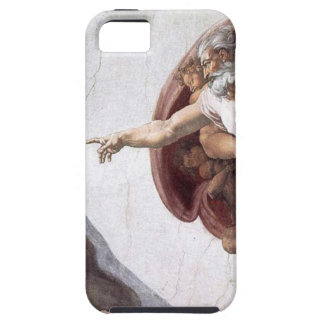 Original Michelangelo paint in sistin chapel Rome iPhone 5 Covers