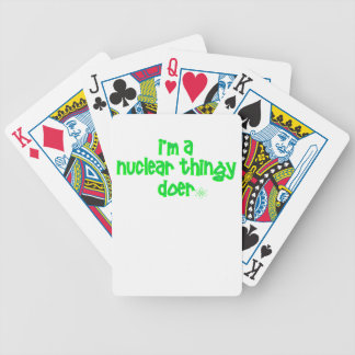 Original Nuclear Design Bicycle Playing Cards