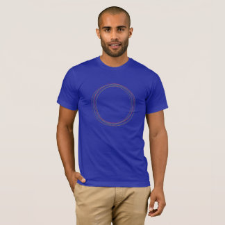"Original ""O"" Circles T-shirt, Blue T-Shirt"