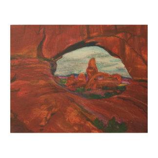 Original Oil Pastel Print