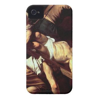 "Original paint ""La crocifissione di s Pietro"" iPhone 4 Cases"