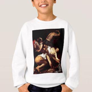 """Original paint """"La crocifissione di s Pietro"""" Sweatshirt"""
