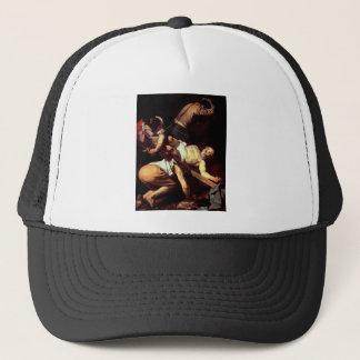 """Original paint """"La crocifissione di s Pietro"""" Trucker Hat"""