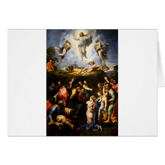 "Original paint ""the Transfiguration"" Raffaello Card"