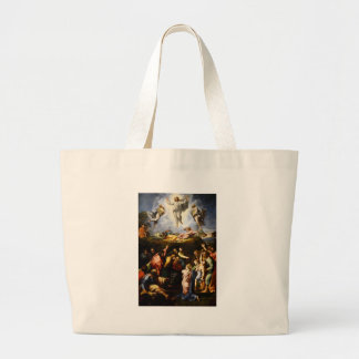 "Original paint ""the Transfiguration"" Raffaello Large Tote Bag"