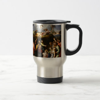 "Original paint ""the Transfiguration"" Raffaello Travel Mug"