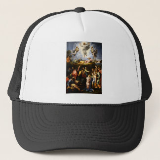 "Original paint ""the Transfiguration"" Raffaello Trucker Hat"