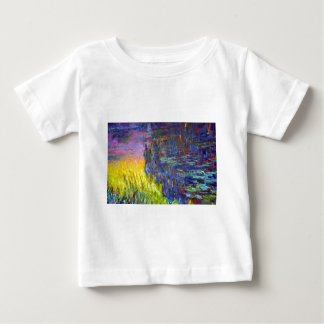 "Original paint ""The Water Lilies"" by Claude Monet Baby T-Shirt"