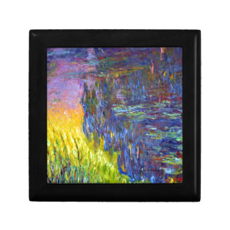 """Original paint """"The Water Lilies"""" by Claude Monet Gift Box"""