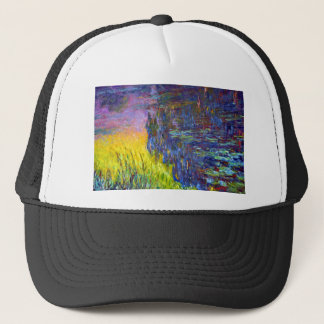 "Original paint ""The Water Lilies"" by Claude Monet Trucker Hat"