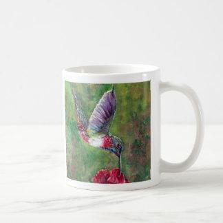 Original Painting, Humming Bird Mug