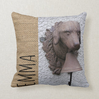 Original personalized Square Pillow Dog Year 2018