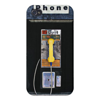 Original phone booth case for the iPhone 4