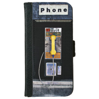 Original phone booth iPhone 6 wallet case