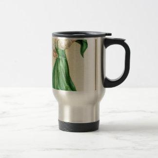 Original poster of St Patricks Day Flag Lady Travel Mug