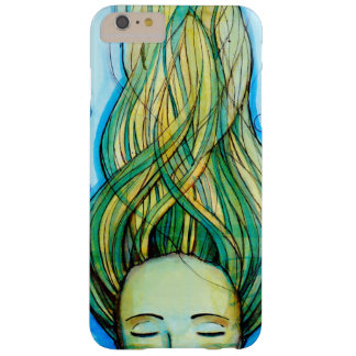 original print of a mermaid  iPhone Barely There iPhone 6 Plus Case