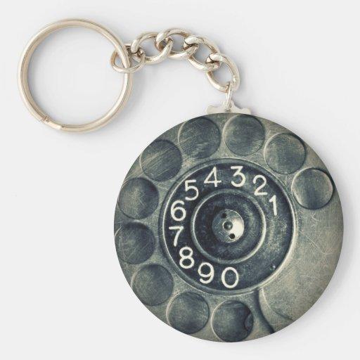 original rotary phone key chain
